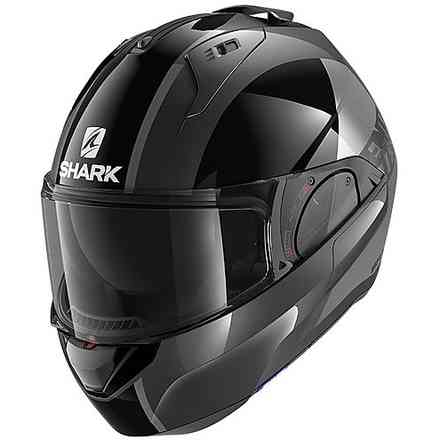 Casco Evo Es Endless antracite nero antracite Shark