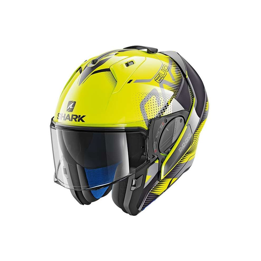 Casco Evo-One 2 Keenser Giallo-nero-antracite Shark