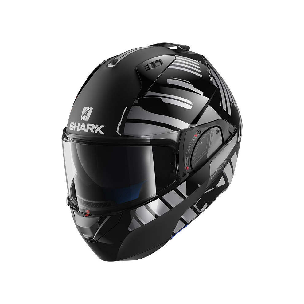 Casco Evo-One 2 Lithion Dual Nero/Antracite Shark