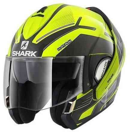 Casco Evoline 3 Hataum H.V. Giallo Shark