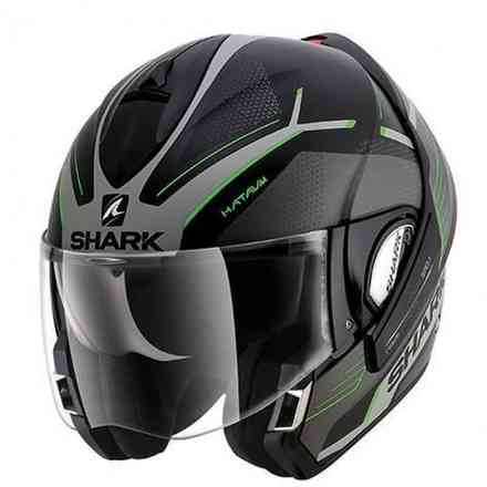 Casco Evoline 3 Hataum Mat Ksg Shark
