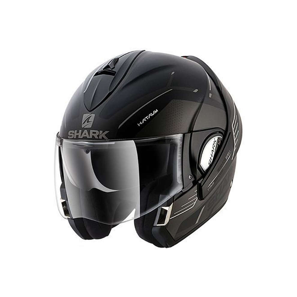 Casco Evoline 3 Hataum Mat Shark