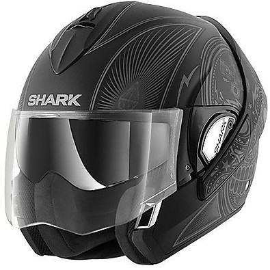 Casco Evoline 3 Mezkal Mat Shark