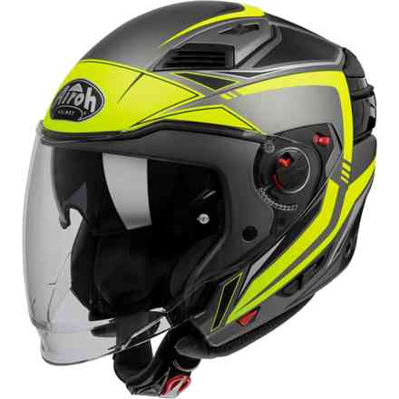Casco Executive Line Giallo Opaco Airoh