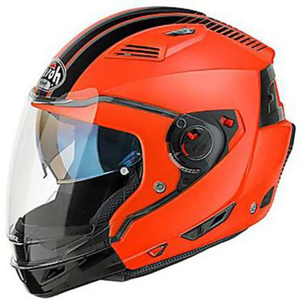 Casco Executive Stripes arancio Airoh