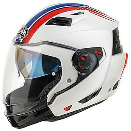Casco Executive Stripes bianco Airoh