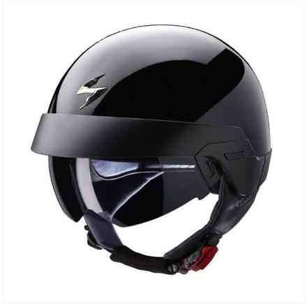 Casco Exo-100 nero Scorpion