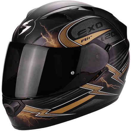 Casco Exo-1200 Air Fulgur oro Scorpion