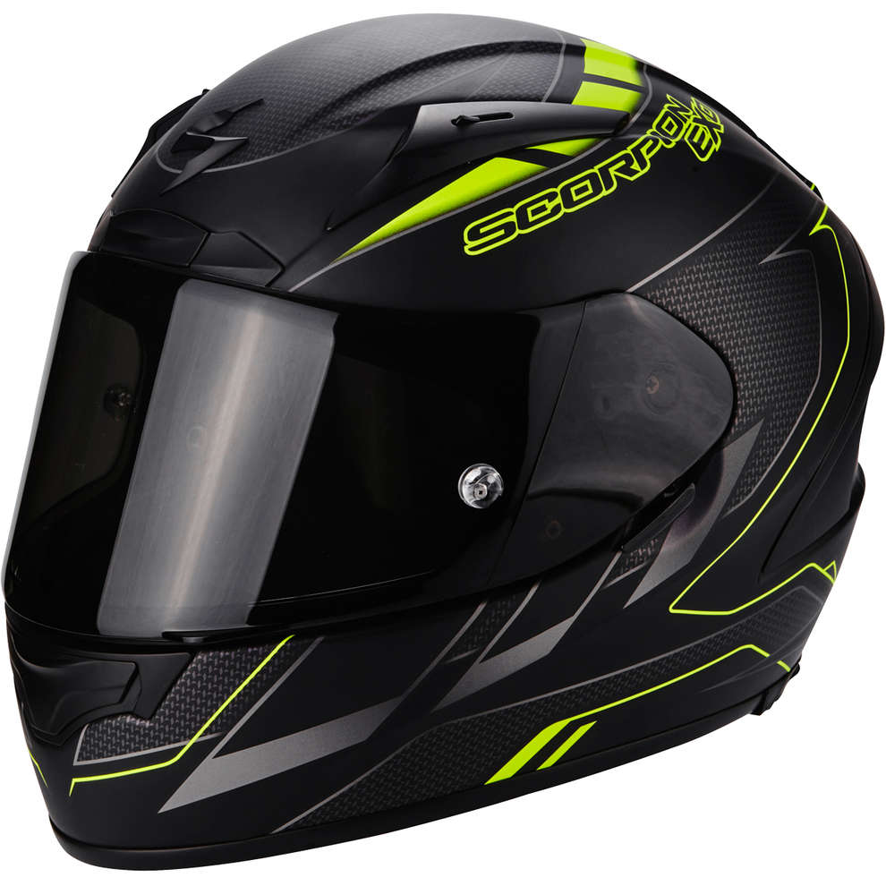 Casco Exo-2000 Evo Air Cup nero giallo Scorpion