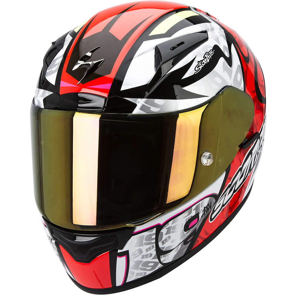 Casco Exo-2000 Evo Air Replica Bautista Scorpion