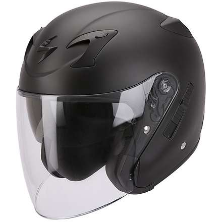 Casco Exo-220 Nero Opaco Scorpion