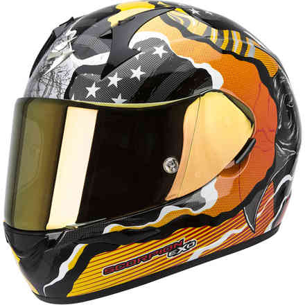 Casco Exo-410 Air Wild arancio Scorpion