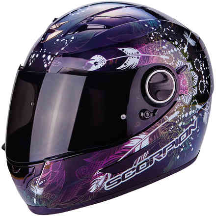 Casco Exo-490 Dream nero camaleonte Scorpion