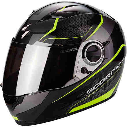 Casco Exo-490 Vision giallo Scorpion