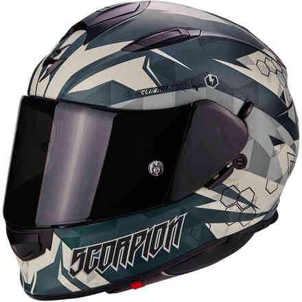 Casco Exo-510 Air Cipher verde Scorpion