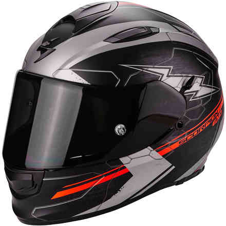 Casco Exo-510 Air Cross rosso Scorpion