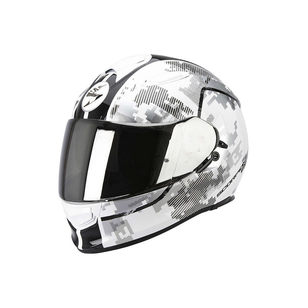 Casco Exo -510 Air Guard bianco-nero Scorpion