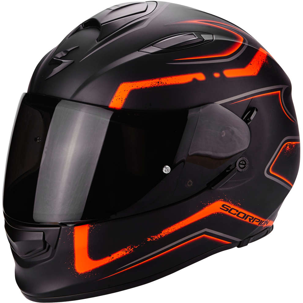 Casco Exo-510 Air Radium arancio Scorpion
