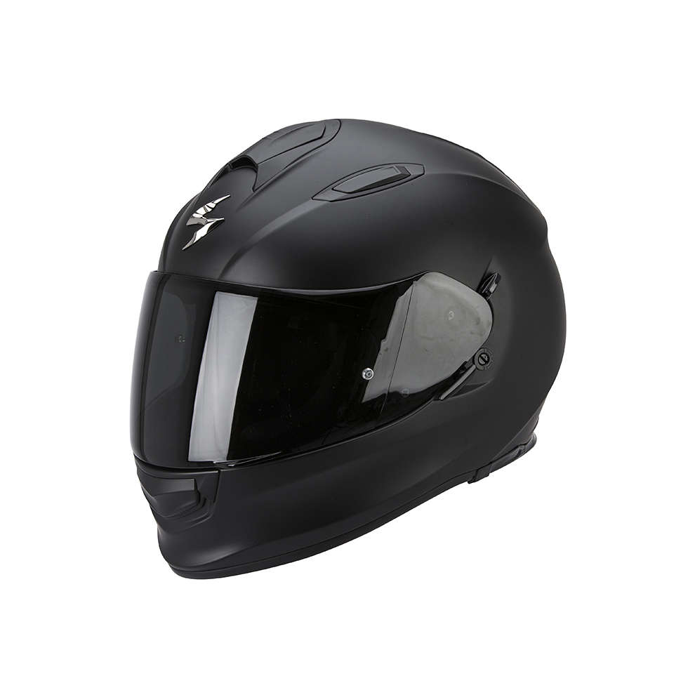 Casco Exo -510 Air Solid nero opaco Scorpion