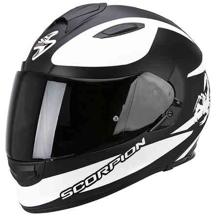 Casco Exo -510 Air Sublim nero-bianco Scorpion