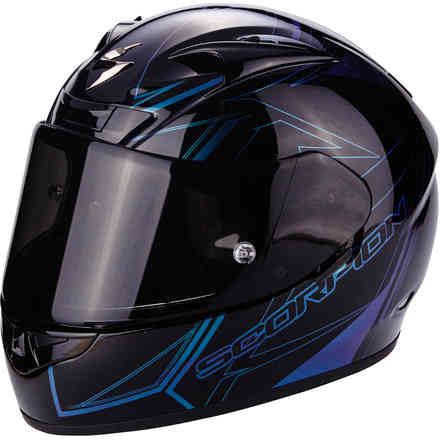 Casco Exo-710 Air Line nero Chameleon Scorpion