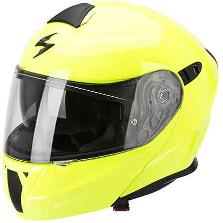 Casco Exo-920 Solid giallo fluo Scorpion