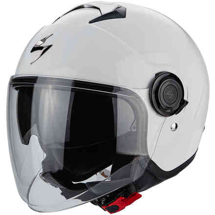 Casco Exo-City Solid bianco Scorpion