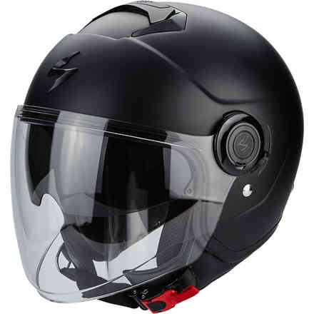 Casco Exo-City Solid nero opaco Scorpion