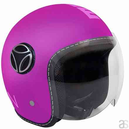 Casco Fighter Baby Violetto Rosa Momo