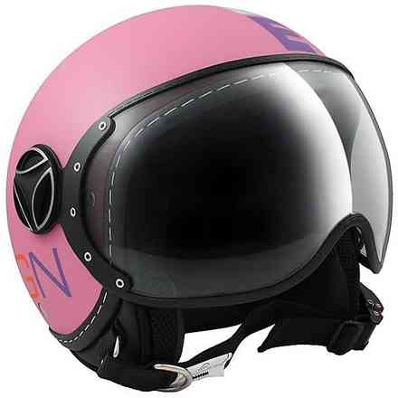 Casco Fighter Rosa Opoca Momo