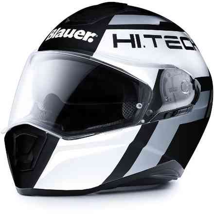 Casco Force One 800 Nero Bianco Antracite Blauer