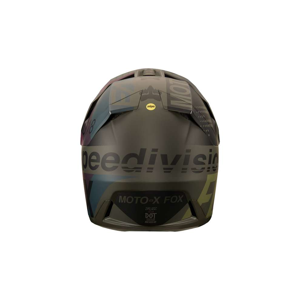 Casco Fox Racing  V3 Draftr Nero Fox