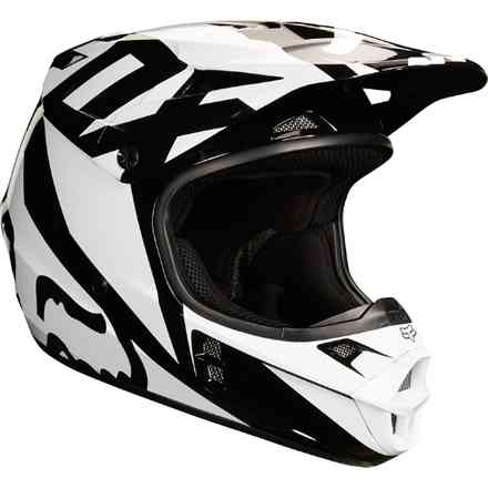 Casco Fox  V1 Race Nero Fox