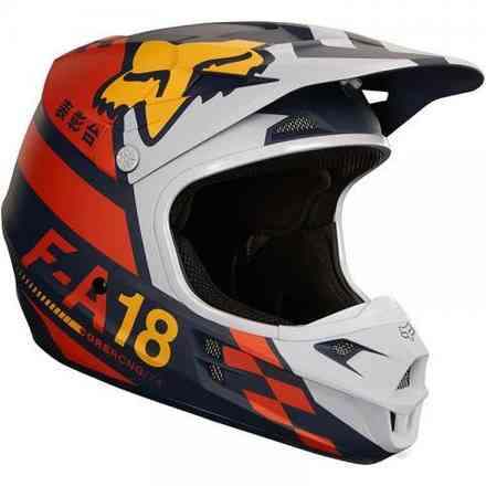 Casco Fox V1 Sayak Arancione Fox