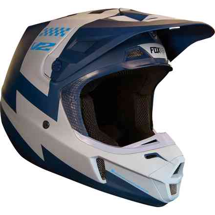 Casco Fox V1 V2 Mastar   Navy Fox