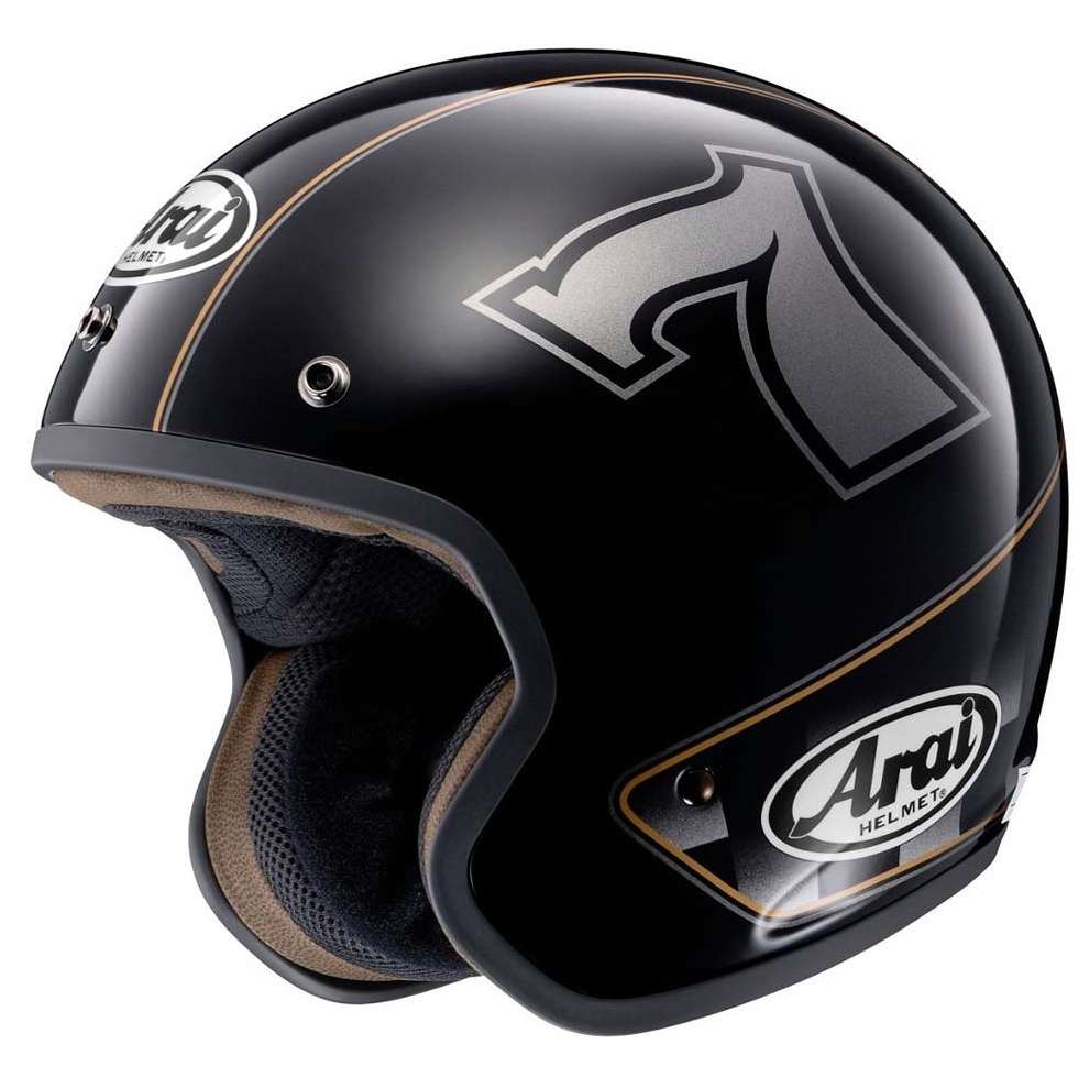 Casco Freeway Classic Cafe Racer  Arai