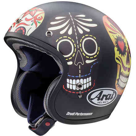 Casco Freeway Classic Skull Arai