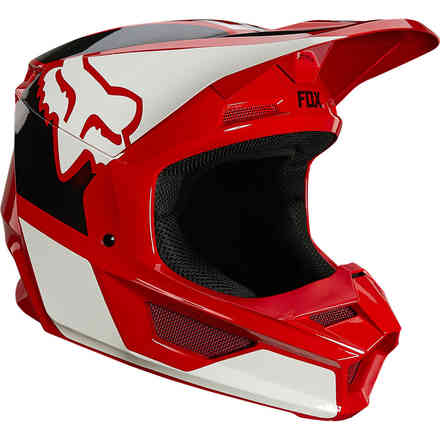 Casco Fx V1 Revn Helmet, Ece Flame Red Fox