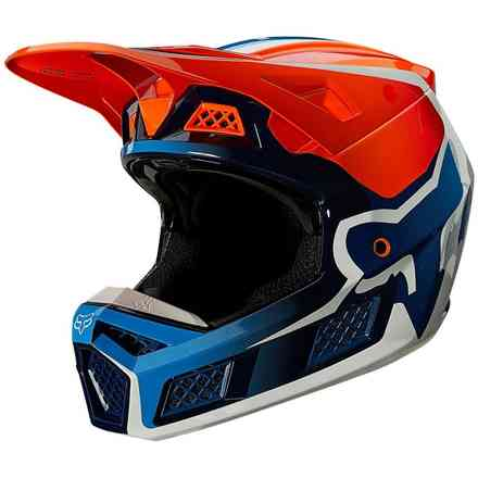 Casco Fx V3 Rs Wired Fluorescent Orange Fox