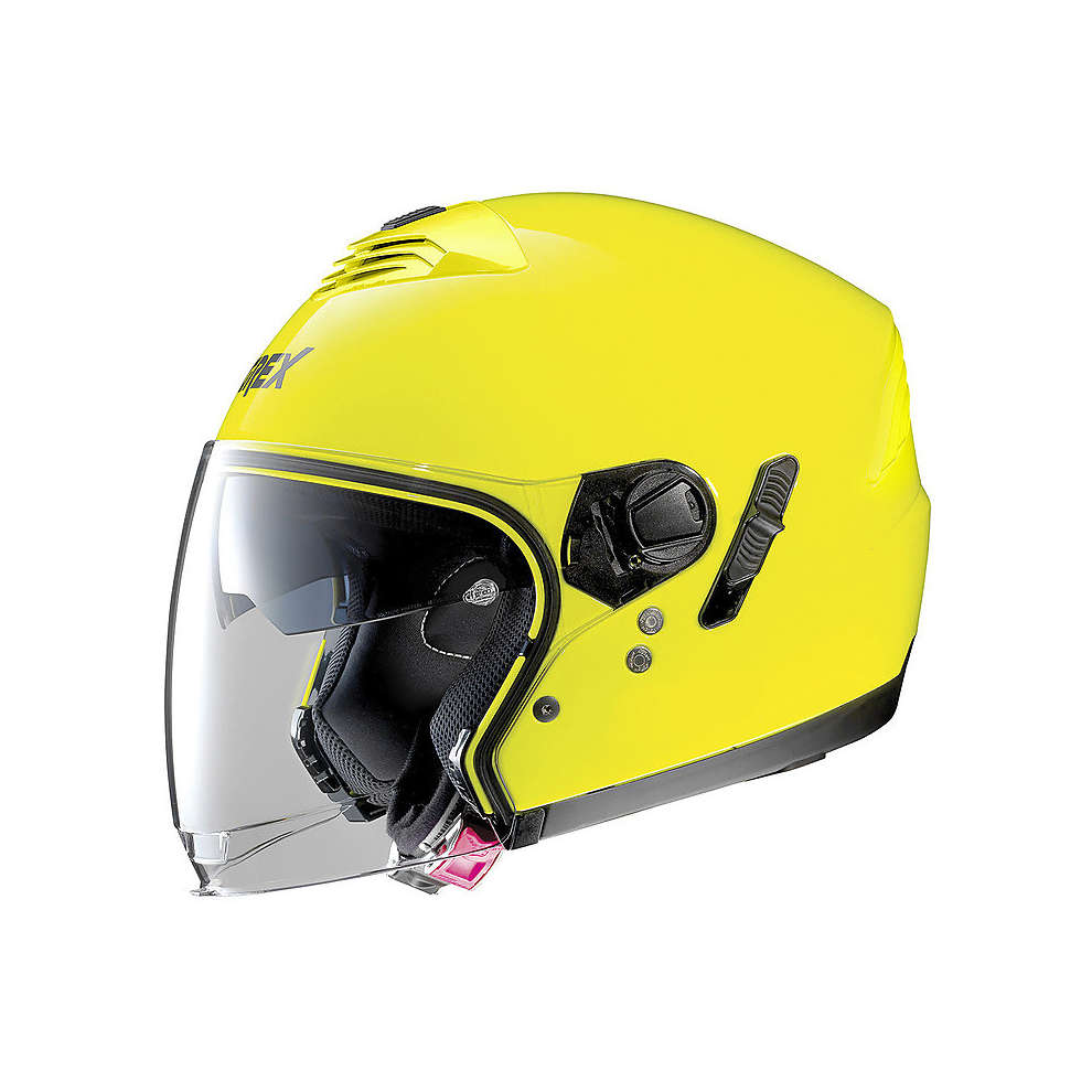 Casco G4.1e Kinetic Led Giallo Grex