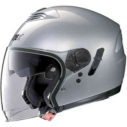 Casco G4.1e Kinetic Metal Argento Lucido Grex