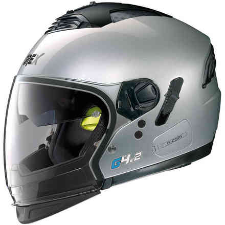 Casco G4.2 Pro Kinetic argento Grex