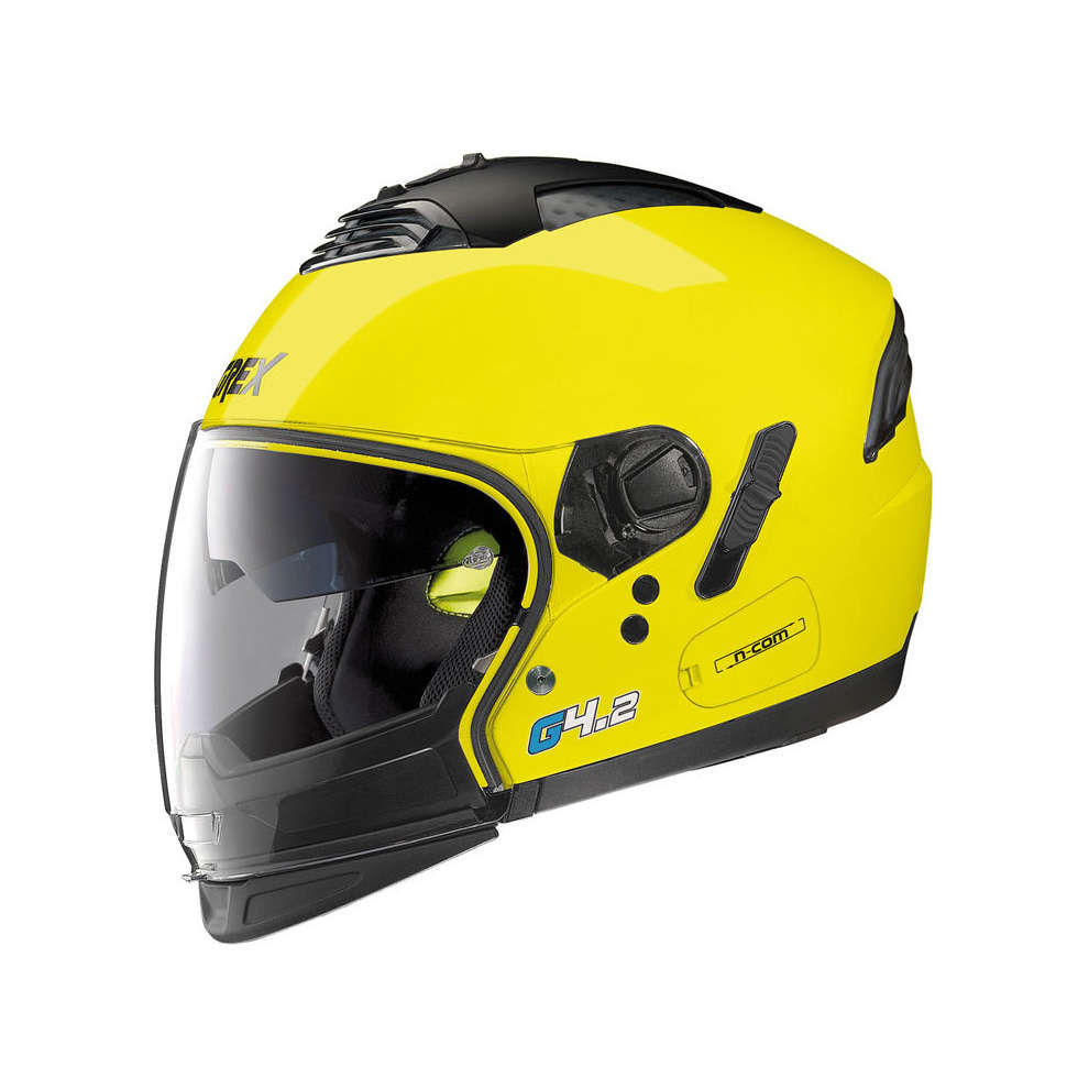 Casco G4.2 Pro Kinetic giallo Grex