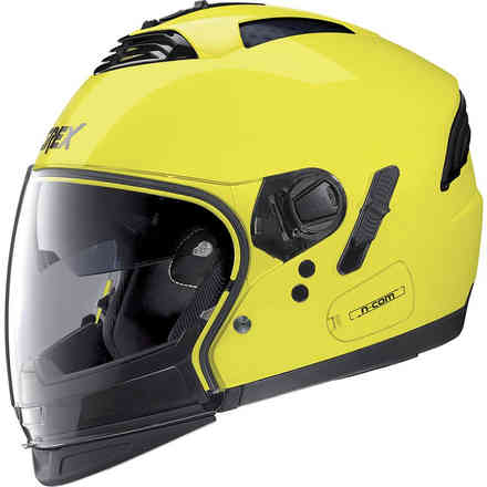 Casco G4.2 Pro Kinetic N-Com Led Giallo Grex