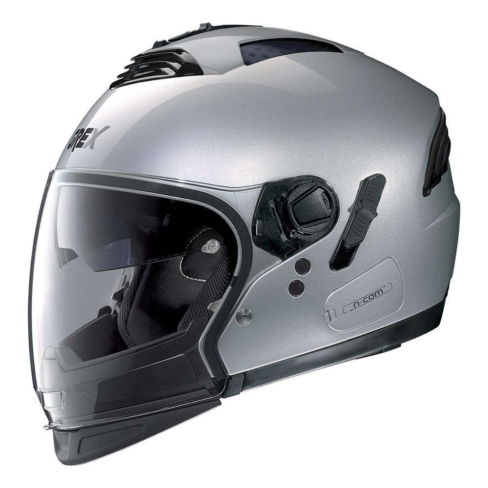 Casco G4.2pro Kinetic N-Com Metal Argento Grex