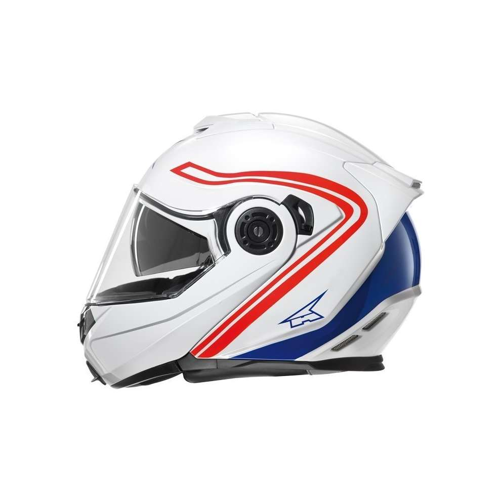 Casco Galaxy Con Pinlock White/Red Axo