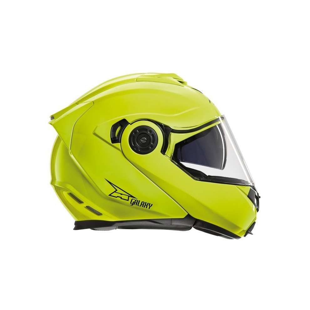 Casco Galaxy Con Pinlock Yellow Axo
