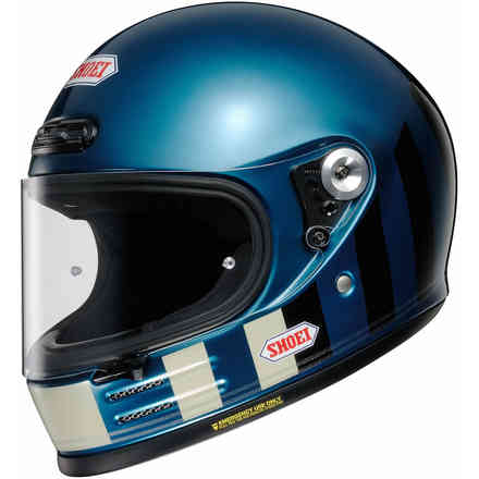 Casco Glamster Resurrection Tc-2 Blue Shoei
