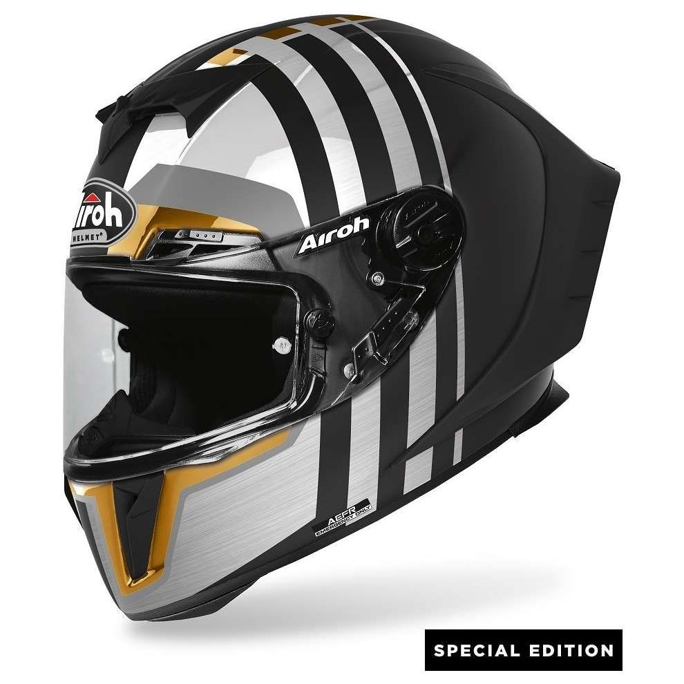 Casco Gp550 S Skyline Oro Lim.Edition Airoh