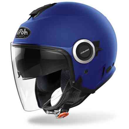 Casco Helios Color Blu Opaco Airoh